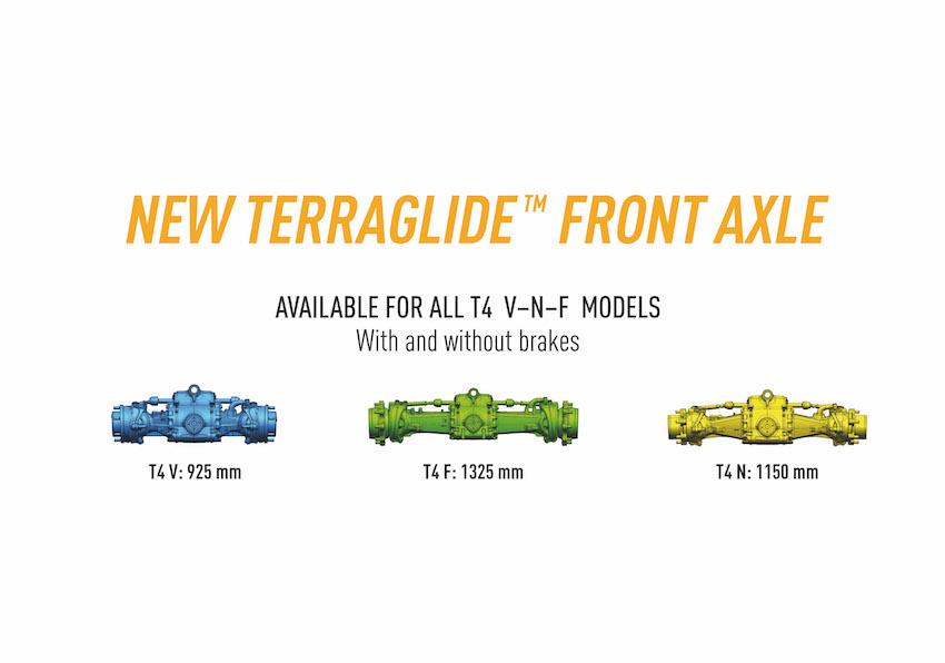 New Holland T4 V/N/F, ancora più agili e versatili con il nuovo assale anteriore sospeso