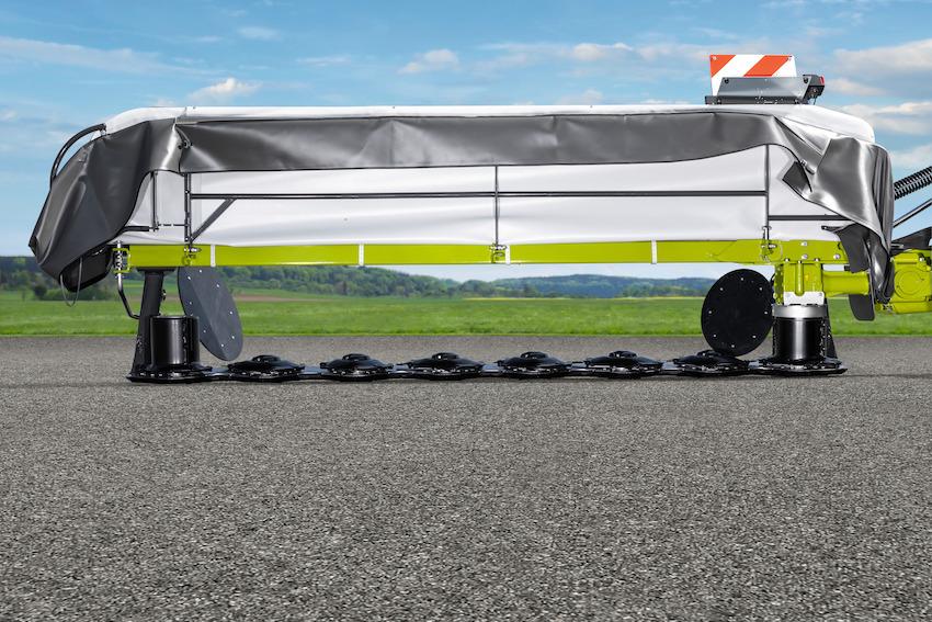 Claas: nuove falciatrici laterali Disco da 2,2 metri a 3,4 metri, con barra Max Cut
