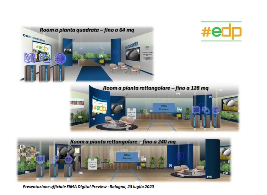 Eima Digital Preview: duemila imprese aprono i loro stand virtuali in 3D