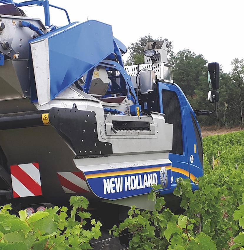 New Holland: innovazione inarrestabile per le vendemmiatrici Braud