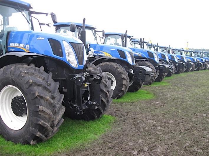 Pneumatici agricoli: vendite ancora in flessione