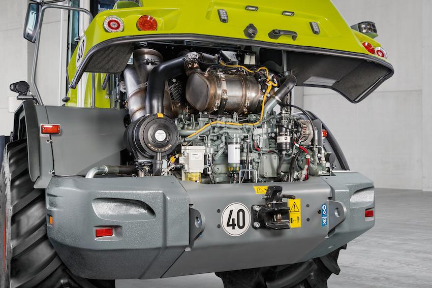 Claas: motori Stage V e altri upgrade per le pale gommate Torion di gamma media